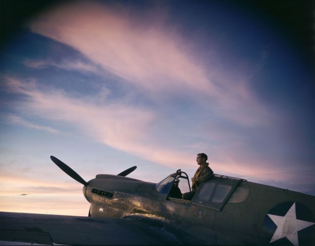 World War II Photos Look Even More Real in Color