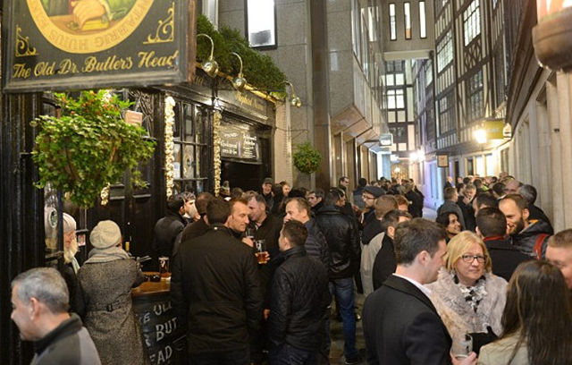 Mad Friday Takes Over Britain as End of Year Parties Ramp Up