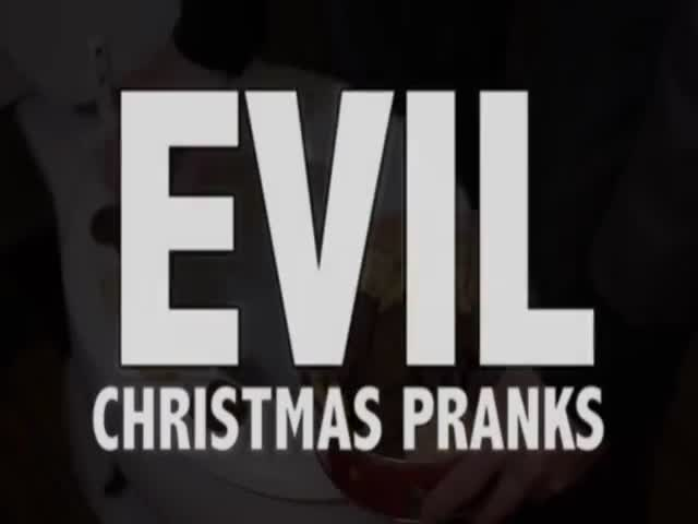 Holiday Pranks for the Whole Family  (VIDEO)