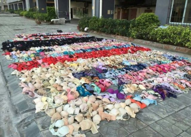 A Man Steals 2000 Items of Lingerie