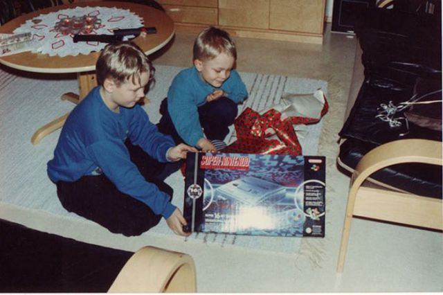 Happiness Is Getting a Console & Games for Christmas
