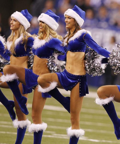 Naughty and Nice Christmas Girls All Look Sexy