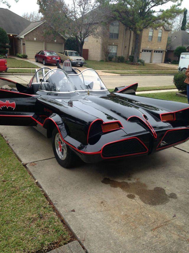 The 'Batmobile' Created From a Home Garage