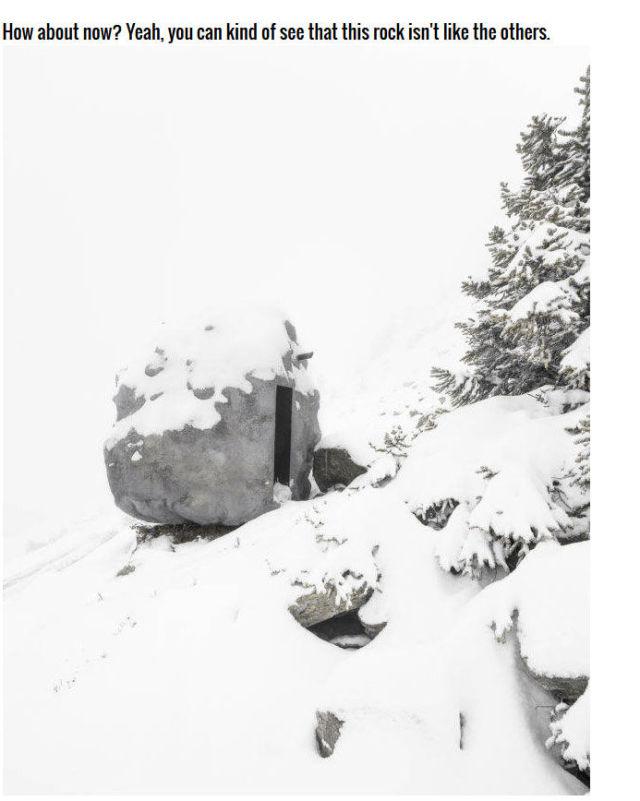 The Boulder That Wasn't a Boulder