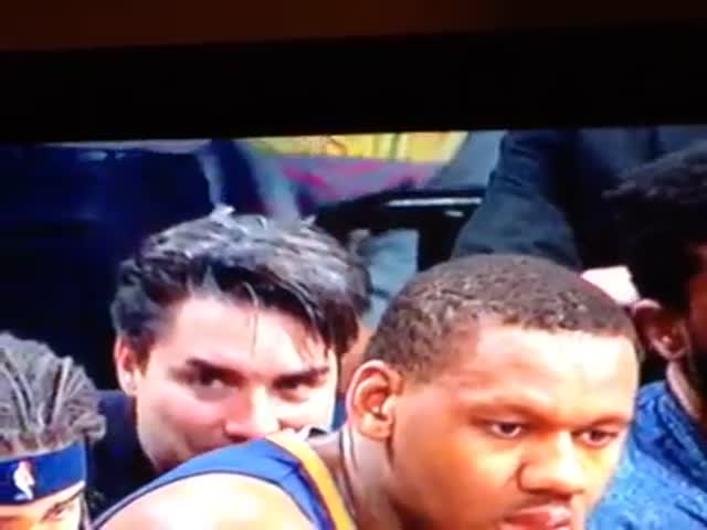 A Pacers Fan Sniffs Lavoy Allen's Jersey and Seems Satisfied  (VIDEO)