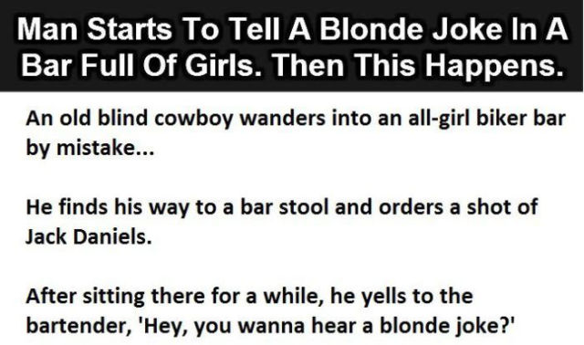 Blind Man's Hilarious Bar Joke Fail and Witty Recovery