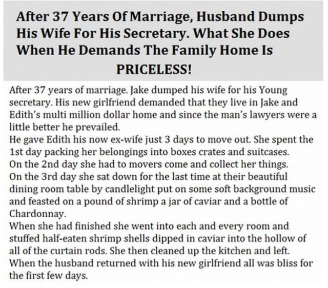 Husband Leaves His Wife But It Is an Epic Fail