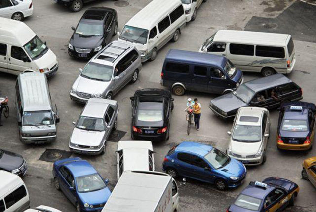 Traffic Is a Commuter's Nightmare and It Has Its Odd Moments