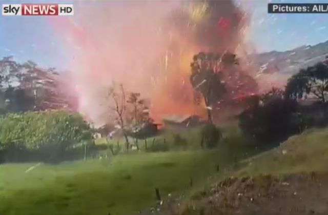 A Fireworks Factory Exploded in Colombia