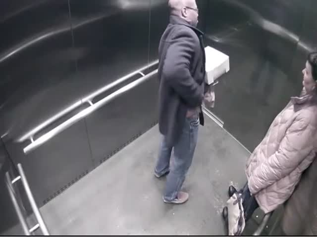 Cop Accidentally Shoots Himself in a Parking Garage Elevator  (VIDEO)