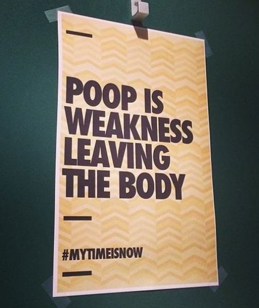 Amusing Bathroom Messages That Are Pretty Witty