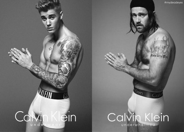 Bondi Hipsters Recreate Justin Bieber's Calvin Klein Fashion Shoot