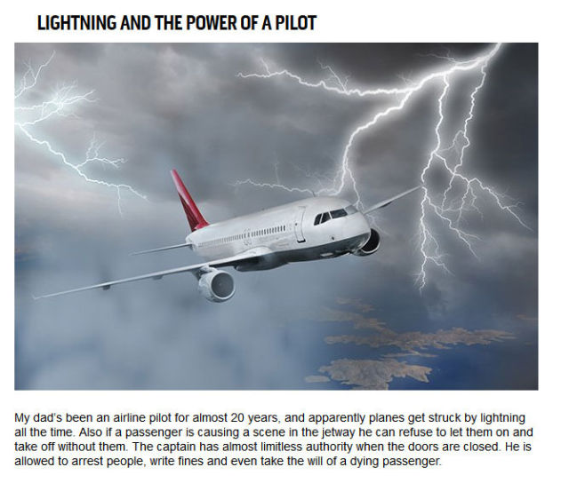 The Candid Truths about Flying