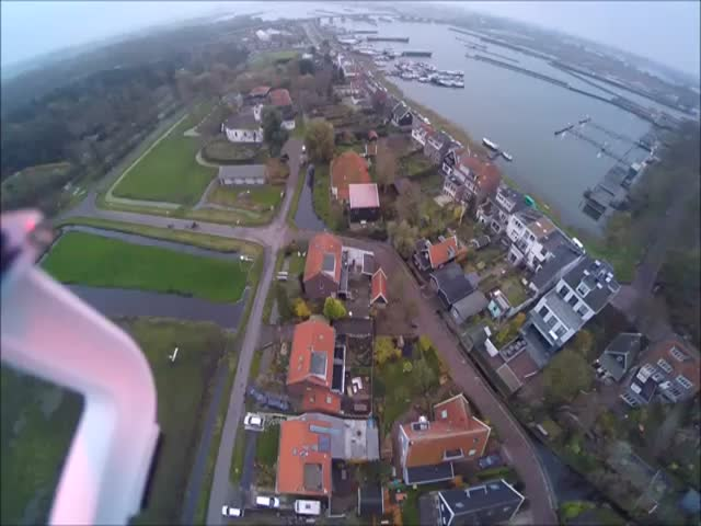 Guy Saves His Brand New $1,000 Drone at the Very Last Second