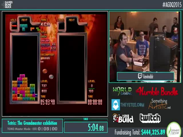 One of the Best Tetris Players in the World Beats a Round with Invisible Blocks