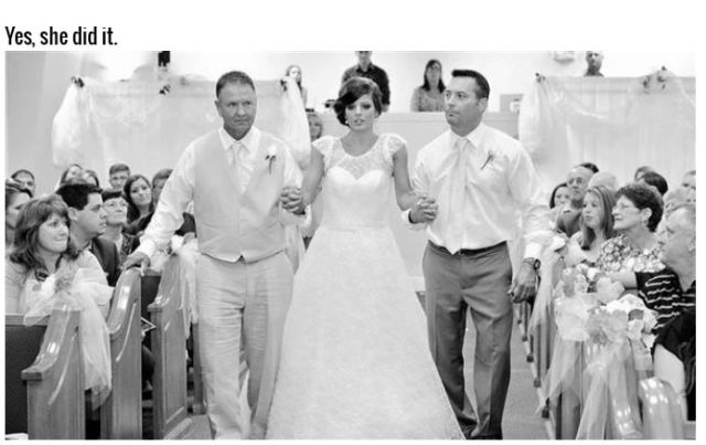 A Paralyzed Bride Walks on Her Wedding Day