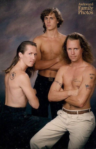 Family Fitness Photos That Will Actually Make You Cringe