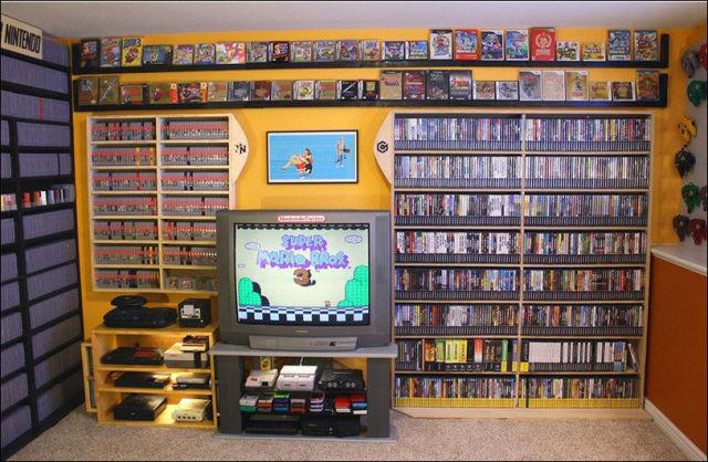 Gaming Room That Is Designed for Maximum Fun