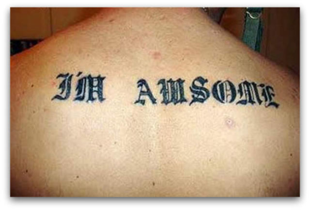 Tattoos Should Come with a Spell Check Function