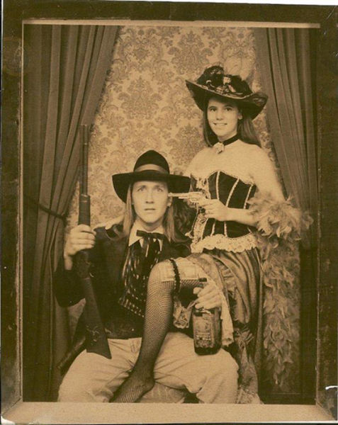 "An ""Olde West"" Inspired Throwback Photo"