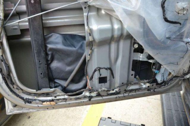 Car Door Hides a Very Expensive Secret