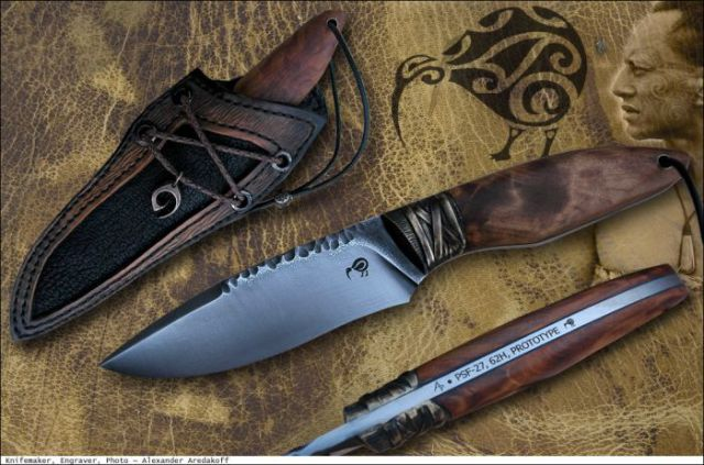 One Man Makes Maorik Knifes from Scratch