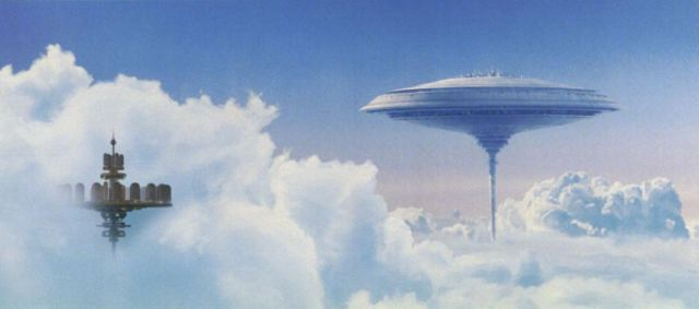 "Stunning Matte Paintings from the Making of the Iconic ""Star Wars"" Films"