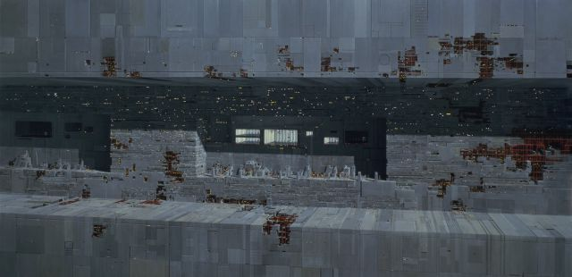 """Stunning Matte Paintings from the Making of the Iconic """"Star Wars"""" Films"""