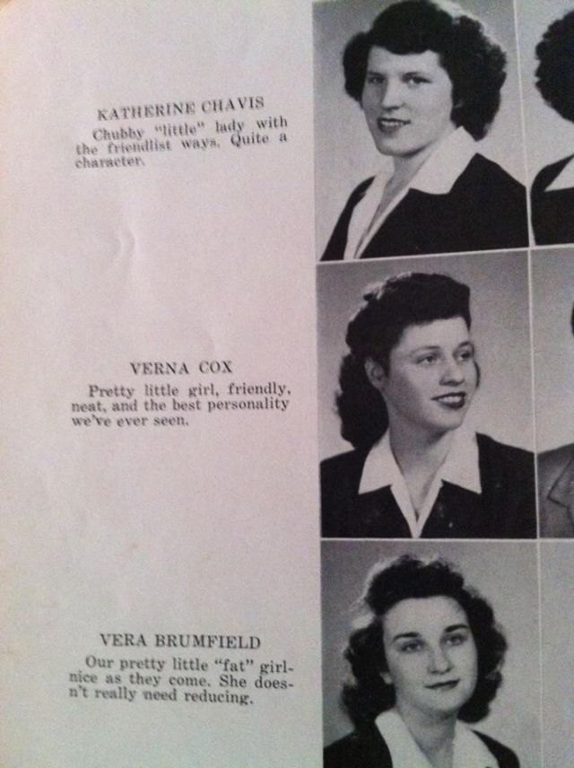 Old School Yearbook Photos That are Pretty Funny to See Today