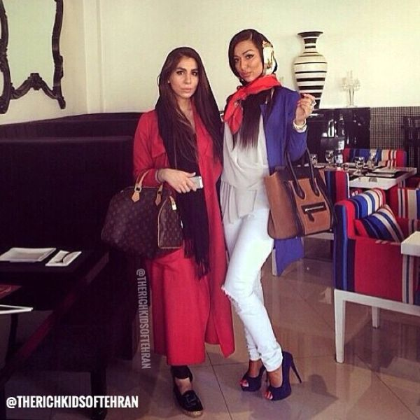 The Glitzy Lives of Tehran's Rich Kids