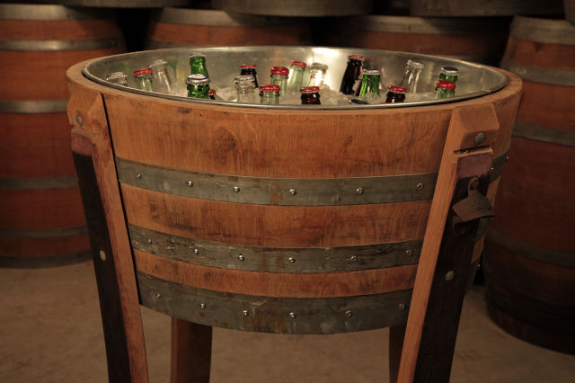 A Guy That Creates Awesome Stuff from Wine Barrels