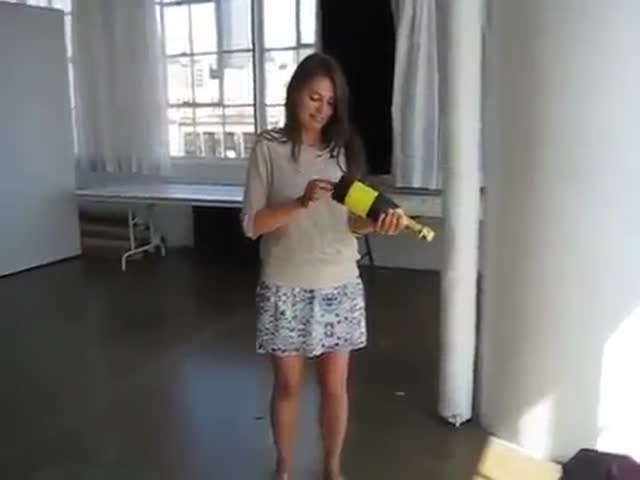 Thank God She's Not Handling a Gun  (VIDEO)