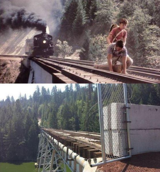 """Stand By Me"" Set Locations Then and Now"