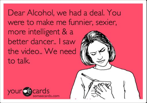 A Little Weekend Debauchery We Can All Relate to