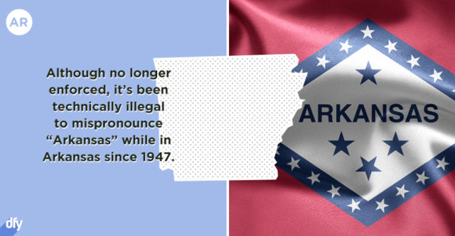 Embarrassing Facts about Each US State
