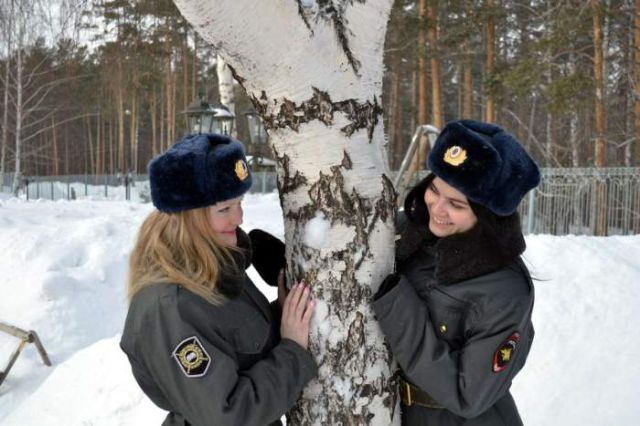 Russian Police Girls