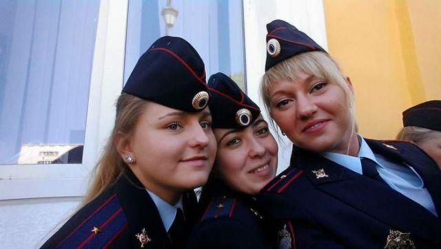 Russian Police Girls