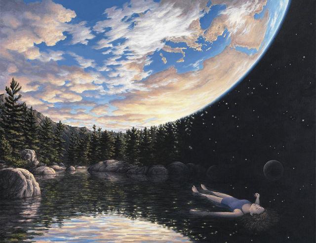 Utterly Mesmerizing Optical Illusion Art