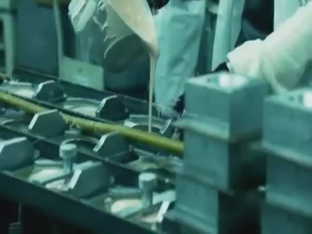 Working in a Dildo Factory  (VIDEO)