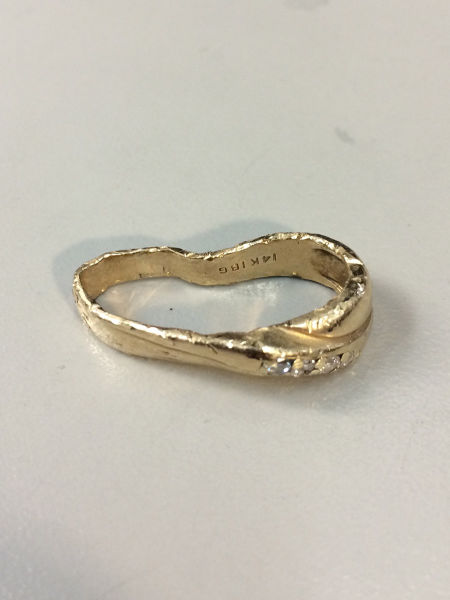 A Mangled Wedding Ring Undergoes a Loving Restoration