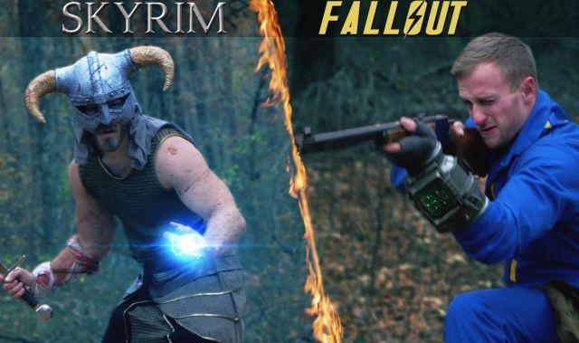 Fallout vs Skyrim