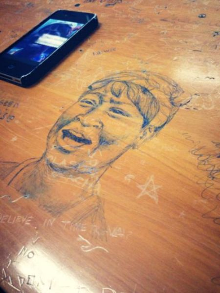 Awesome Desk Doodles That Are Actual Masterpieces
