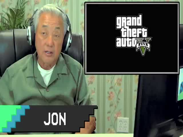 Elders React to Playing GTA 5 for the First Time  (VIDEO)