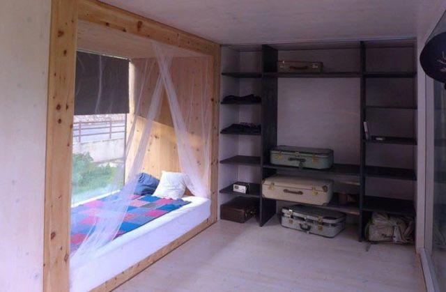 A Sleek and Stylish Mobile Home