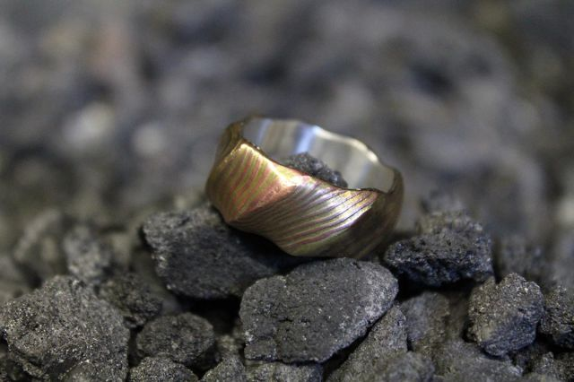 A Stunning and Unusual Metal Ring