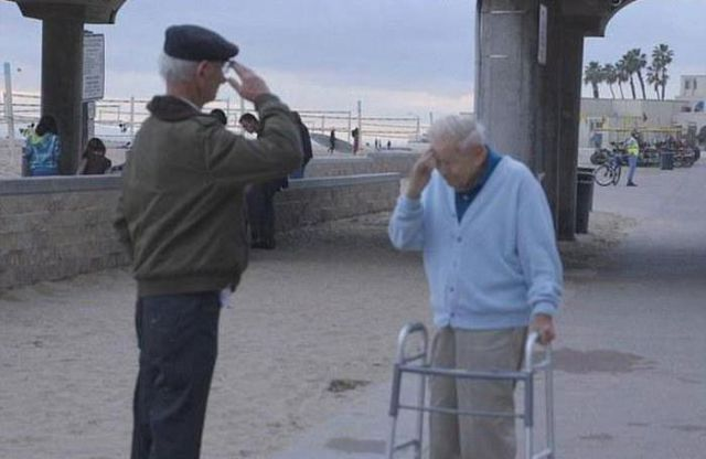 A Touching Meeting between a War Survivor and the Man Who Saved Him