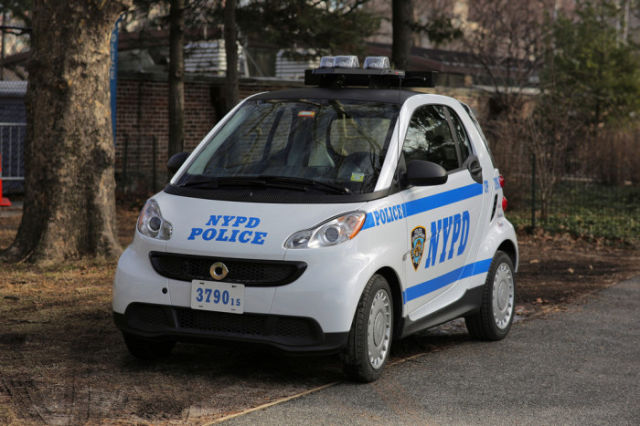 NYPD Cop Cars Get Smaller and Smaller