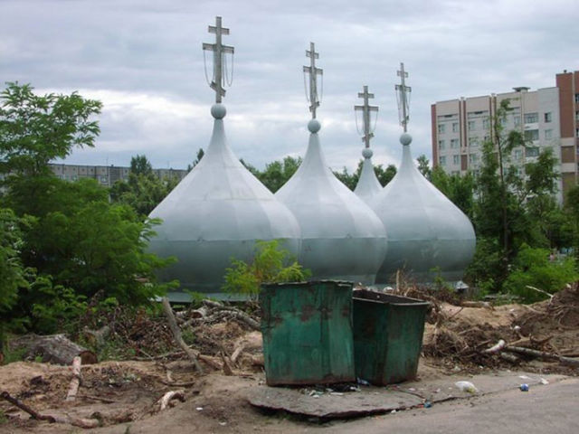 One-of-a-Kind Russian Architecture and Construction