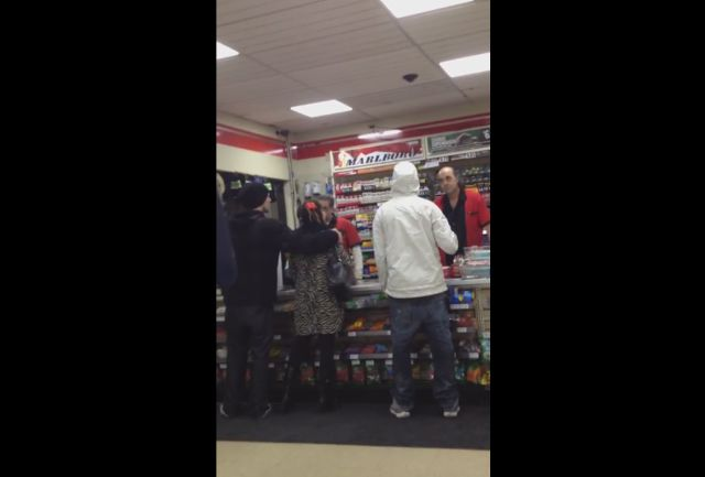 Drunk Woman Cause Chaos in a 7-Eleven Store