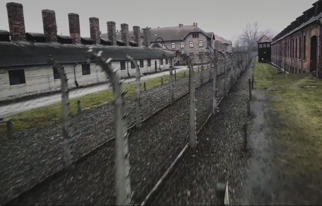 Chilling, Haunting Drone Footage of Auschwitz Concentration Camp